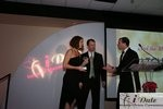 Match.com receiving Best Dating Site Award at the 2010 iDateAwards in Miami