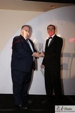 Rich Orcutt (Iovation) receiving the Best New Technology Award at the January 28, 2010 Internet Dating Industry Awards in Miami