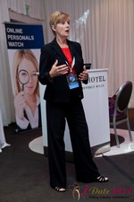 Ann Robbins (CEO of eDateAbility) at the 2011 Internet Dating Industry Conference in California