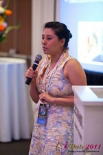 Monica Ohara (Director of Marketing at SpeedDate) at the June 22-24, 2011 California Internet and Mobile Dating Industry Conference