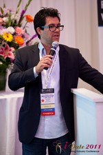 Tai Lopez (CEO of DatingHype.com) at the 2011 California Internet Dating Summit and Convention