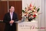 Mark Brooks (CEO of Courtland Brooks) at iDate2012 L.A.