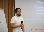 Miguel Espinoza (Developer @ PHPFox) at iDate2013 Europe