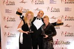 eLove Winners of the 2013 iDateAwards at the January 17, 2013 Internet Dating Industry Awards Ceremony in Las Vegas