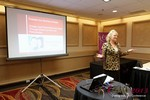 Julie Ferman (eLove / Cupids Coach) at the 2013 Las Vegas Digital Dating Conference and Internet Dating Industry Event