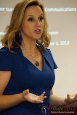 Rachel DeAlto (The Flirt Expert) at the January 16-19, 2013 Internet Dating Super Conference in Las Vegas