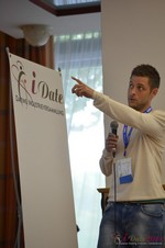 Ashley Christie, CEO of theMobileHub  at the September 7-9, 2014 Mobile and Online Dating Industry Conference in Cologne