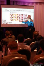 Axel Vezina, Chief Analytics Officer For Crak Media On Best Strategies For Mobile Dating Conversions  at iDate2014 L.A.