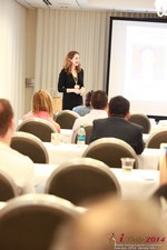 Jill James, COO of Three Day Rule Seminar On Partnership Models For Dating Leads To Online Dating at the 2014 L.A. Mobile Dating Summit and Convention