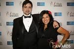 Arthur Malov & Damona Hoffman  in Las Vegas at the 2014 Online Dating Industry Awards