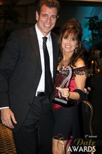 Renee Piane (Winner of Best Dating Coach) in Las Vegas at the 2014 Online Dating Industry Awards