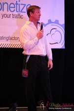 Dr. Jeff Collier - CEO of MateSafe at the January 14-16, 2014 Las Vegas Internet Dating Super Conference