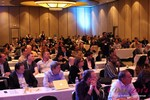 Audience at Final Panel Debate at the January 14-16, 2014 Internet Dating Super Conference in Las Vegas