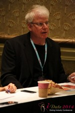 Dr. David Buss at the 2014 Internet Dating Super Conference in Las Vegas