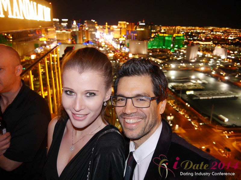 Party @ Foundation Room at the 2014 Internet Dating Super Conference in Las Vegas