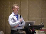 Daniel Haigh - COO of Oasis at the 2015 China Asia Mobile and Internet Dating Expo and Convention