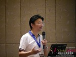 Dr. Song Li - CEO of Zhenai at the 2015 Beijing Asia and China Mobile and Internet Dating Expo and Convention