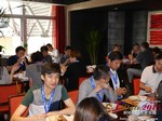 Lunch at the 41st International Asia and China iDate Mobile Dating Business Executive Convention and Trade Show