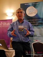 Dave Wiseman Vice President Of Sales And Marketing Speaking To The European Dating Market On Scam Detection Technology at the October 14-16, 2015 Mobile and Internet Dating Industry Conference in London
