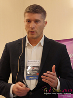 Hristo Zlatarsky CEO Elitebook.bg With Insights On The Bulgarian Mobile And Online Dating Market at the 2015 Euro and U.K. Internet Dating Industry Conference in London