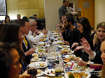 Lunch Among European And Global Dating Industry Executives   at the October 14-16, 2015 conference and expo for online dating and matchmaking in London