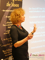 Mary Balfour CEO And Managing Director Of Drawing Down The Moon  at iDate2015 London
