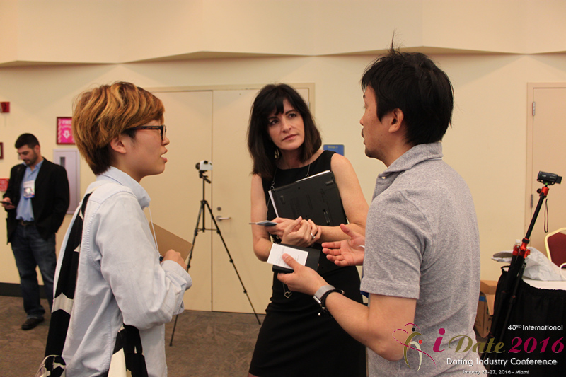 Business Networking among Dating Industry Professionals at the 43rd International Dating Industry Convention