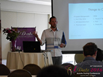 Kenny Hyder (VP of Equate Media)  at the 38th iDate Mobile Dating Indústria Trade Show