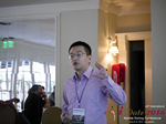 Shang Hsui Koo(CFO, Jiayuan)  at the 2016 Internet and Mobile Dating Indústria Conference in Beverly Hills