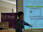 Takuya Iwamoto (Diverse-yyc-co-jp)  at the 2016 Internet and Mobile Dating Indústria Conference in Beverly Hills