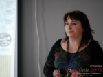 Irina Matulkova at the July 19-21, 2017 International Romance Business Conference in Belarus